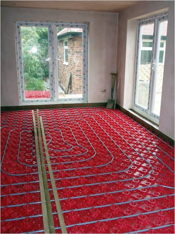 Radiant Floor Heating In Wolcott Test
